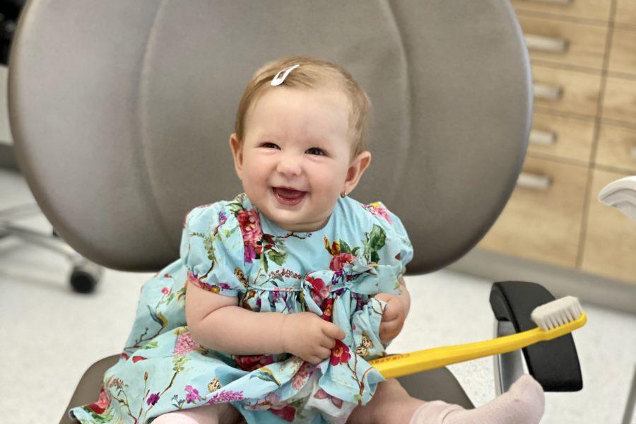 Prvá návšteva s dieťaťom v zubnej ambulancii